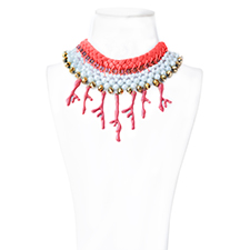 COLLAR ISIS CORAL