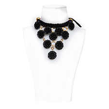 COLLAR CLAUDE MONET NOIR